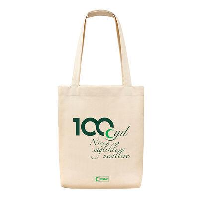 100. Yıl Temalı Bez Çanta