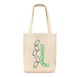 Yeşilay - Bez Çanta - Bağımsız Ol Teknoloji Bağımlılığı 3