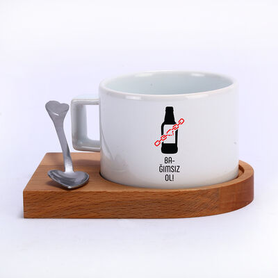 Kahve Fincanı - Bağımsız Ol Alkol Bağımlılığı