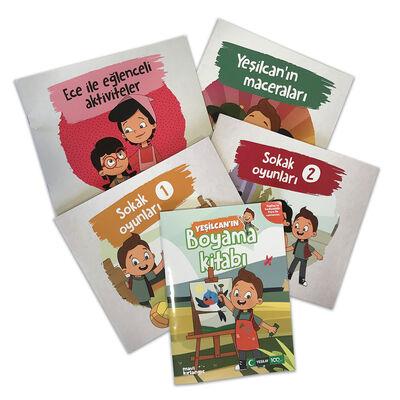 Çocuk Kitapları - Aktivite Seti