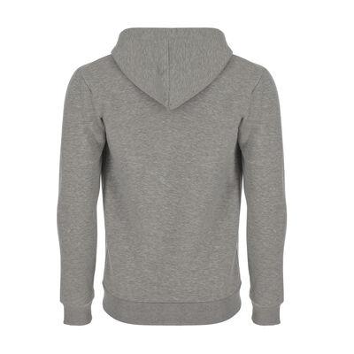 Fermuarlı Kapüşonlu Sweatshirt - Tutsak Olma