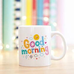 - Kişiye Özel Good Morning Kupa Bardak