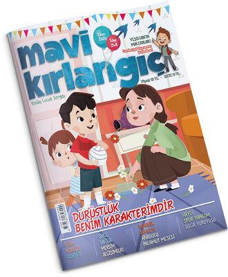 Mavi Kırlangıç Çocuk Dergisi - Ekim 2020