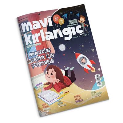 Mavi Kırlangıç Çocuk Dergisi - Ocak 2021