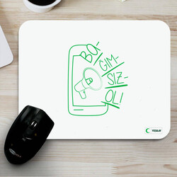 Yeşilay - Mousepad - Bağımsız Ol Teknoloji Bağımlılığı 2