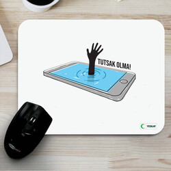 - Mousepad - Tutsak Olma Teknoloji Bağımlılığı