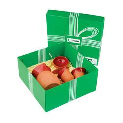 Yeşilay - Toprak Kahve Seti 2 - Kırmızı