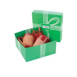 Yeşilay - Toprak kupa set - Kırmızı