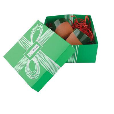 Toprak kupa set - Yeşil