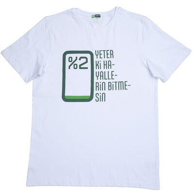 Tshirt - Yeter Ki Hayallerin Bitmesin