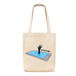 Yeşilay - Bez Çanta - Tutsak Olma Teknoloji Bağımlılığı