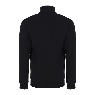 Yaka Fermuarlı Sweatshirt - Düş