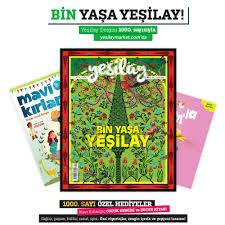 Yeşilay - Yeşilay Dergisi 1000. Özel Sayısı